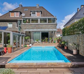 Naturpool am Haus